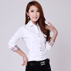 Cheap Blouses & Shirts on Sale at Bargain Price, Buy Quality wear blazer, shirt rock, shirt apparel from China wear blazer Suppliers at Aliexpress.com:1,Sleeve Style:Regular 2,Clothing Length:Regular 3,Style:Formal 4,Material:Cotton 5,Gender:Women