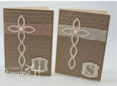 Stampin' Up! Stamping T! - Baptist Cards