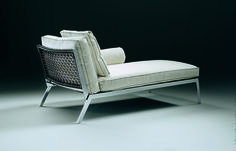 FLEXFORM HAPPY #chaiselongue designed by Antonio Citterio