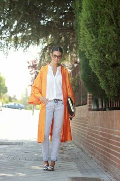 Diary Of Style: Orange Kimono!