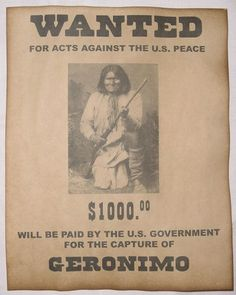 Details about Set of 5 Indian Wanted Posters Geronimo Cochise Crazy Horse Gall Sitting Bull - Native American Paintings, Native American Quotes, Native American Tribes, Native American History, American Indians, Native American Decor, American Symbols, American Women, Indian Tribes