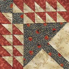 clmt quilter: Civil War Love Letters Quilt blocks