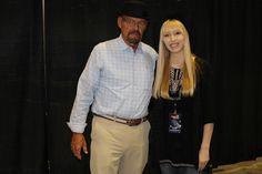 A Walter White cosplayer & I at Walker Stalker Con Orlando 2015