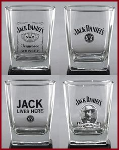 Jack Daniel's Double Old Fashioned Glass (DOF 14 oz) Set of Jack Daniel's Lowball Glasses, Official Licensed Barware, Made in USA, Exclusive Product Jack Daniels Glasses, Jack Daniels Bourbon, Jack Daniels Decor, Jack Daniels Party, Whiskey Girl, Cigars And Whiskey, Jack Daniel's Tennessee Whiskey, Uncle Jack, Gentleman Jack