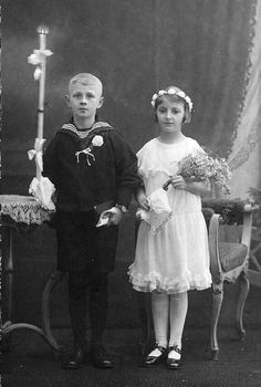 First Communion (1920s) ~ Germany