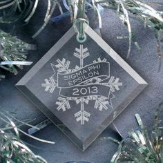 Campus Classics - SigEp 2013 Holiday Ornament: $10.00