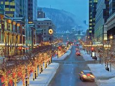 Explore the best Montreal Christmas events for families. From ice skating outdoors to taking a great show, enjoy Christmas in Montreal. Montreal Ville, Montreal Quebec, Quebec City, Ottawa, Conquistador, Montreal In Winter, Montreal New Years Eve, Oh The Places You'll Go, Places To Visit