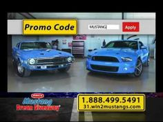 This is a tv commerical about the #2014 #Mustang Dream Giveaway. Learn about the collectible Shelby GT500 Mustangs that one person will win, and the charities support by tax-deductible donations of $3 or more! You may also visit: www.dreamgiveaway.com/dg/mustang.