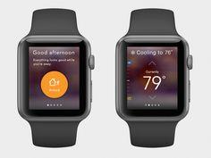 Vivint AppleWatch App Concept by Derek Cramer