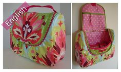 OpStap  Hanging toiletry bag e-pattern by Naaikamertje on Etsy