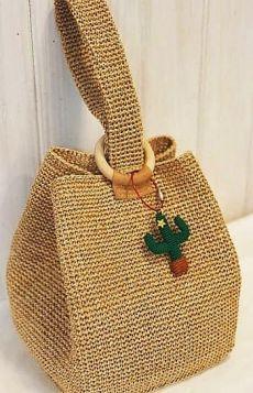 KUFER z artystycznym rękodziełem : Szydełkowy żakiet | Crochet patterns | Постила Beau Crochet, Free Crochet, Knit Crochet, Crochet Woman, Tunisian Crochet, Crochet Granny, Crochet Handbags, Crochet Purses, Crochet Bags