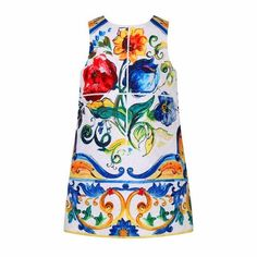 Mother Daughter Dresses 2017 Brand Mother and Daughter Family Matching Clothes with Floral Dobby Women Girls Dresses