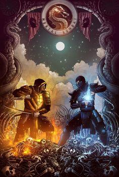 Sub Zero Mortal Kombat, Mortal Kombat Art, Mortal Kombat X Characters, Skorpion Mortal Kombat, Mortal Kombat X Wallpapers, Claude Van Damme, Hacker Wallpaper, Cool Anime Pictures, Ninja Art