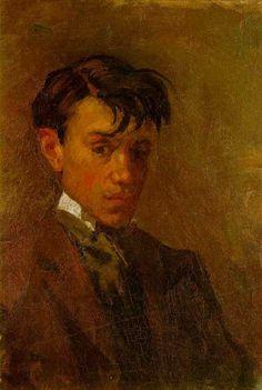 Pablo Picasso - Self-portrait. quite handsome i might say... :)