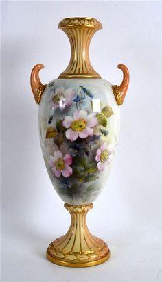 Royal Worcester Vase.
