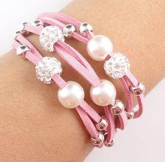 hot models Jewelry  Czech Disco Ball Magnetic Bracelet Cuff European Charm WW21