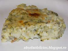 Fish fillet with Béchamel sauce and broccoli Salami Recipes, Fish Recipes, English Food, English Recipes, Bechamel Sauce, A Food, Fish Food, Broccoli, Macaroni And Cheese
