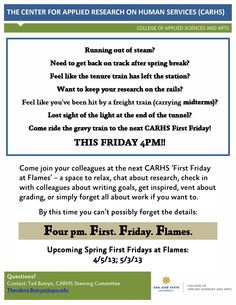 CARHS First Friday Flyer April 2013