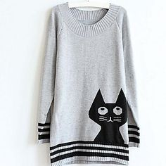 Kitteh Sweater Dress