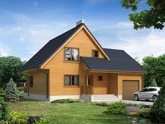 Projekt domu MT Stokrotka 2 dr-S - DOM ST5-81 - gotowy projekt domu
