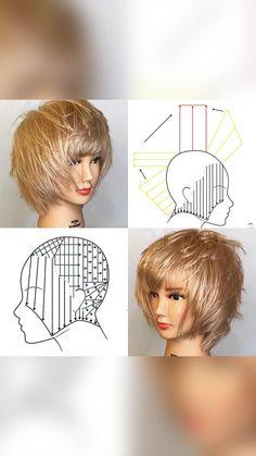 Simply Hairstyles, Modern Hairstyles, Older Women Hairstyles, Short Bob Hairstyles, Hair Cutting Techniques, Creative Hair Color, Short Hair Older Women, French Hair, Silver Hair