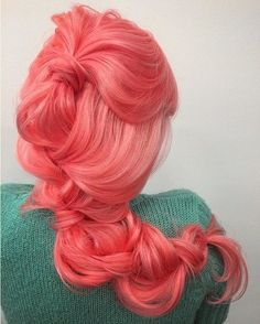 Cotton Candy #hairspiration via @ramsaymarstonhair