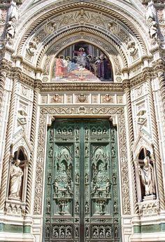 Porta da Catedral de Florença