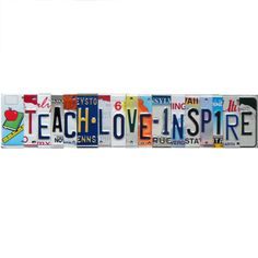 Old License Plates, Make Happy, Happy Campers, Wall Hanger, Shop Signs, Wall Signs, Friends In Love, Custom Made, Clip Art