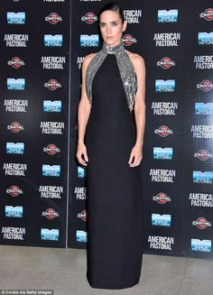 Jennifer Connelly at American Pastoral premiere in Rome