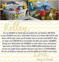 Wedding Shower Gift For Brother : bridal shower wedding shower gifts wedding showers wedding gifts ...