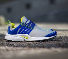 f0c5109e68d2 Nike Air Presto - Neutral Grey   Cyber - Hyper Blue