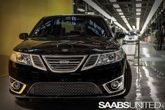 NEVS production car #1 Saab 9-3