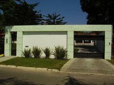 Fotos de Fachada de Muro com Vidro, Portão ou Revestimento | Tretando Portal