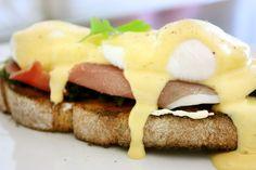 Eggs Florentine w/ Prosciutto and Truffle Hollandaise