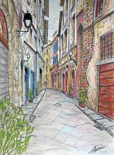 Print of Florence Italy painting Italian by FradetFineArt on Etsy, $53.00