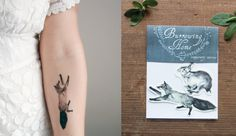 TEMPORARY TATTOOS ARE BACK AND WAY CUTER THAN WE REMEMBER   Pomelo Magazine