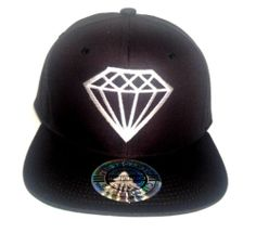 Diamond Hip Hop Snapback Hat Flat Bill Rihanna Dope Swag | eBay