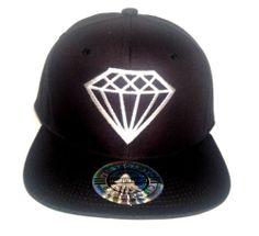 Diamond Hip Hop Snapback Hat Flat Bill Rihanna Dope Swag | eBay