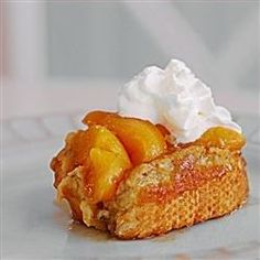 My mother gave me this to use at my mother group. Everyone loved it so I decided to post it and share the great blend of peaches and French toast. Smells great when cooking.