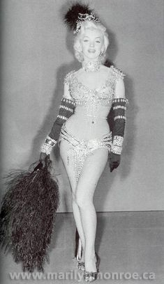 Marilyn Monroe Costume Tests