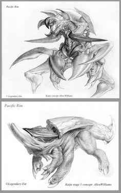 Pacific Rim concept art by Allen Williams    theconceptartblog.com