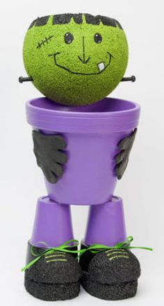 DecoArt® Friendly Frank Treat Pot