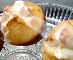 Muffins de limão com cobertura