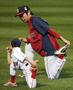 Koji Uehara & Kaz seriously have my heart