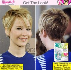 Jennifer Lawrence Hair Madrid