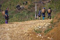 Black Hmong going to farm the fields - Sapa, Vietnam   Flickr