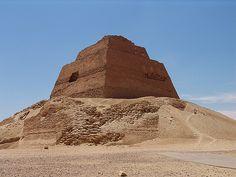 Pyramid near Beni Suef Egypt