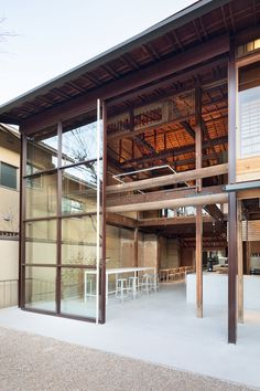 Gallery of Blue Bottle Coffee Kyoto Cafe / Jo Nagasaka / Schemata Architects - 5 Coffee Shop Design, Cafe Design, Store Design, House Design, Diy Interior Doors, Interior And Exterior, Japanese Architecture, Interior Architecture, Le Ranch