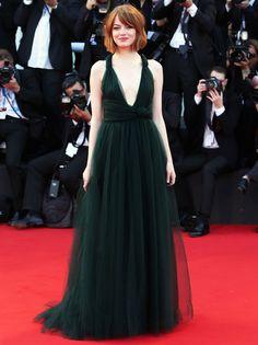 My Favorite 2014 Venice Film Festival Looks | Emma Stone in Valentino Couture