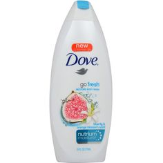 Dove Go Fresh Restore 24-ounce Body Wash (1) ($15) ❤ liked on Polyvore featuring beauty products, bath & body products and body cleansers